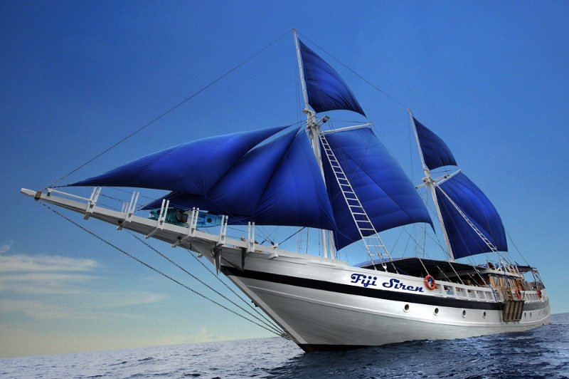 S/Y Fiji Siren will be launched in November 2013