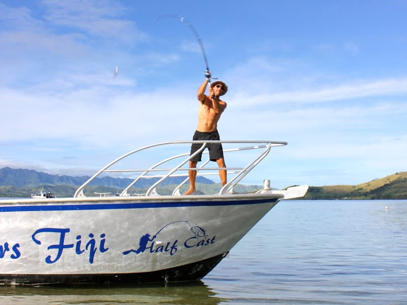 GT Fishing in Fiji