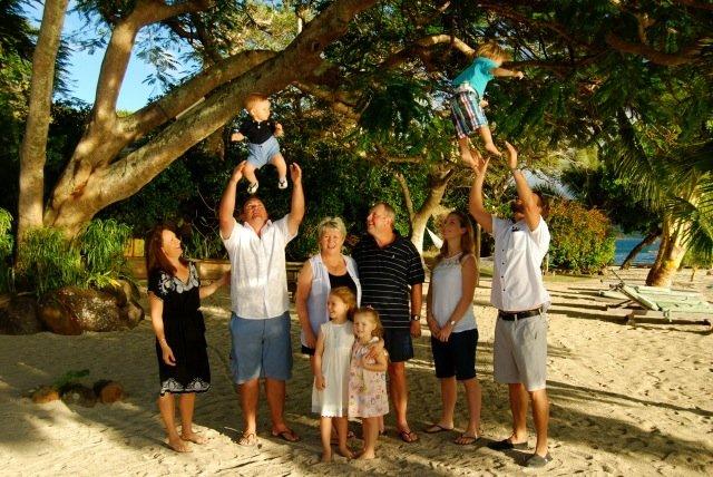 Darling Family at Volivoli