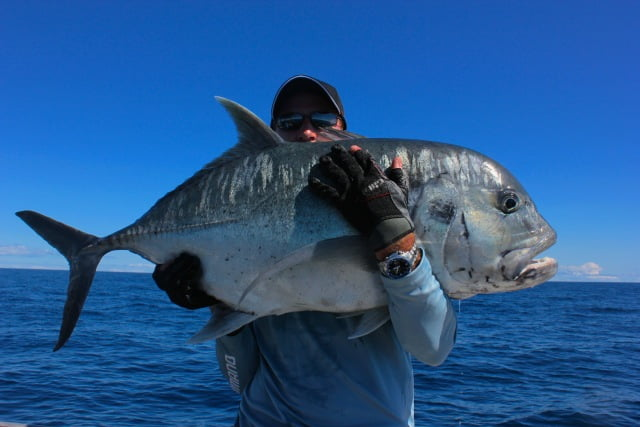 GT after GT after GT fishing in Fiji