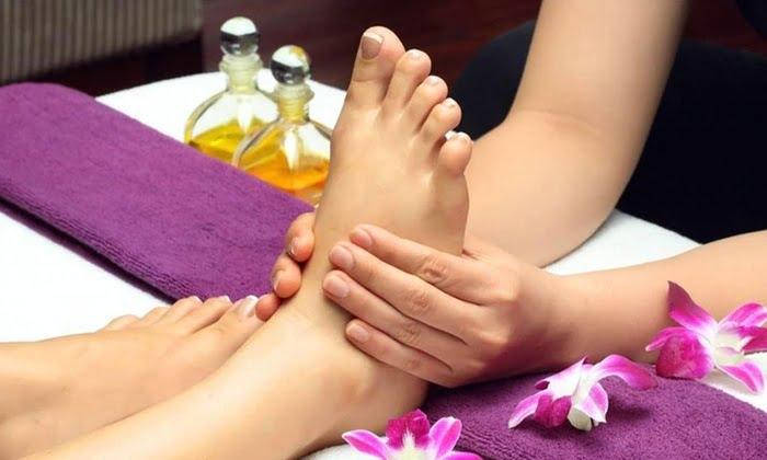 Island foot ritual