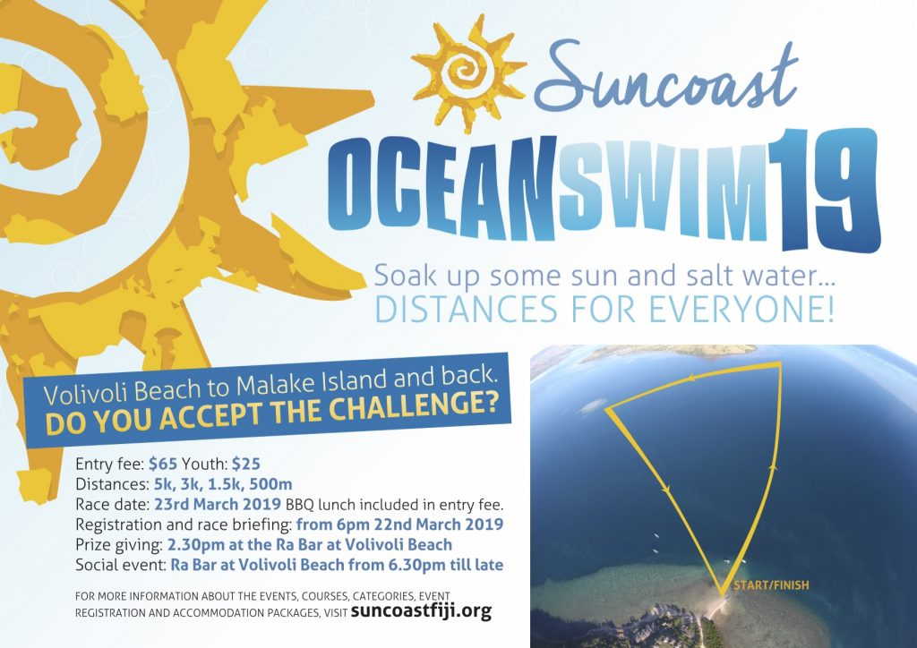 Suncoast Ocean Swim 19 Flyer